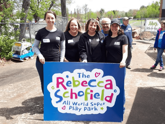 Riverview Animal Hospital staff members at Rebecca Schofield Community Event