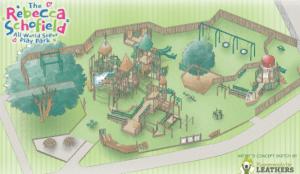 Map of Rebecca Schofield Community Event